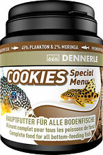 Dennerle Premium Fish Food: Cookies Special Menu 200ml for Cory, Loach, Catfish