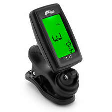 More details for guitar tuner - clip-on chromatic tuner for guitar, ukulele and violin by tiger