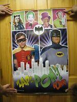Batman Poster Burt Ward Adam West Burgess Meredith Julie Newmar