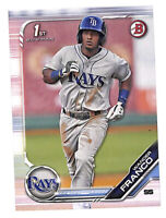 2019 Bowman Prospects #BP100 Wander Franco paper rookie RC card Rays