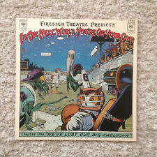 FIRESIGN THEATRE IN THE NEXT WORLD ORIG 1ST US PRESS VINYL LP 1975 COLUMBIA