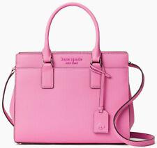 NWT Kate Spade Cameron Satchel Bright Peony Pink Saffiano Leather WKRU6426 $399