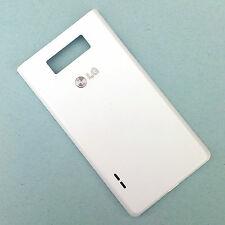 100% Genuine LG Optimus L7 rear battery cover+NFC antenna aerial white back P700