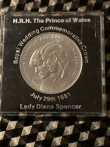 Collectible - 1981 Charles and Diana Royal Wedding Commemorative Crown coin