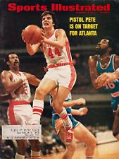 "Sports Illustrated November 12, 1973 ""Pistol Pete is on Target for Atlanta"""