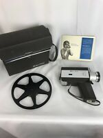 Vintage Bell & Howell 339 Autoload Focus-Matic Camera W/ Case & Instructions
