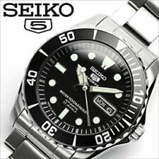SEIKO 5 SPORTS SNZF17J1 / SNZF17JC Diver's Black Dial Men's Watch Made in Japan