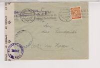 All.Bes./Gemeinsch.Ausg. Mi. 925, EF, Halle/sa., - Hagen, brit.Zensur, 27.4.47