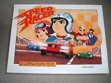 Vintage 1996 Speed Racer Poster GTI Volkswagen Drivers Wanted Advertising