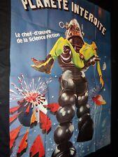 PLANETE INTERDITE Forbidden Planet !! robby le robot  affiche cinema