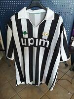 Rara Maglia Juventus ORIGINALE Serie A Indossata De Agostini 1991 da collezione