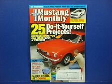 Mustang Monthly January 2011 25 Do-It-Yourself Projects C4 Automatics M2447