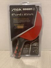 Stiga Evolution Premium Ping Pong Table Tennis Paddle Racket NEW - Red - Rubber