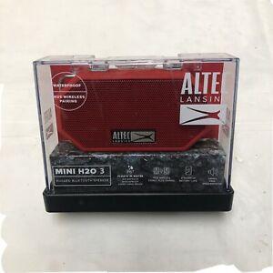 Altec Lansing Mini H2O 3 Mini Wireless Bluetooth Speaker Waterproof - Red