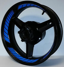 LIGHT PURE BLUE CUSTOM INNER RIM DECALS WHEEL STICKERS STRIPES TAPE GRAPHICS KIT