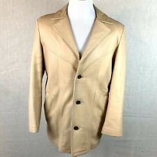 New listing Western Jacket Leather W.B. Place Co Made In Usa Mens 40 Vintage