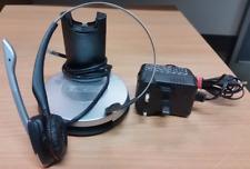 GN Netcom Jabra GN9350 WIRELESS SCRIVANIA TELEFONO & pc cellulare cuffie con PSU Grad
