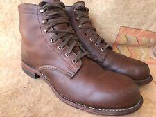 Men's WOLVERINE Original 1000 Mile Leather Boots Brown Size 9.5 D