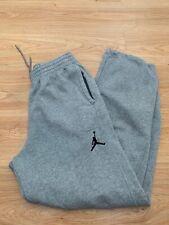 Medio para hombre Nike Air Jordan 23/7 Pista Pantalones Pantalones de ejercicio de Lana en Gris/99p