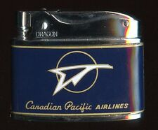 Minty, Unfired 1950s Canadian Pacific Airlines Lighter by Dragon in Original Box
