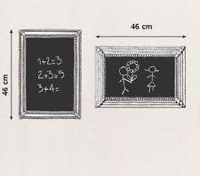 Wandtattoo Bilderrahmen Tafelfolie Aufkleber Wandsticker Sticker Kreide Tafel