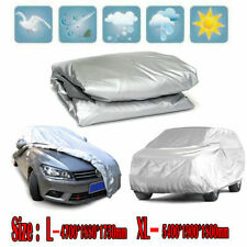 L-XL Large WaterProof Full Car Covers SUV Outdoor Dust Ray Rain Snow Accessories