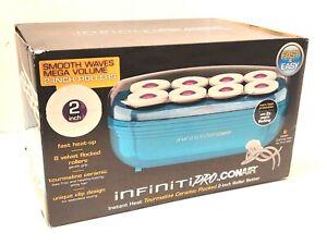 Infiniti Pro by Conair Instant Heat Tourmaline Ceramic Flocked 2 Inch Roller Set