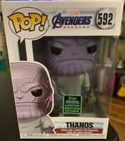 Funko Pop Thanos #592 Marvel Avengers Endgame ECCC Shared Exclusive