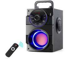 Tamproad Portable Bluetooth Speakers with Subwoofer Rich Bass Wireless Outdoor