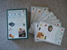 Brand New Boxed Best Ever Cooks Kitchen Library Cook Book set