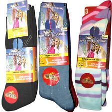 Unbranded Thermal Women's Multipack Socks 2-3 Number in Pack