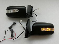 NEW Manual Fold LED Signal Side Mirrors For 2002~2003~2004~2005~2006 Lancer
