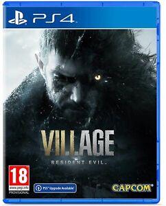Resident Evil Village (PS4) Brand New & Sealed Free UK P&P