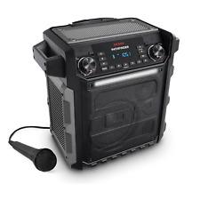 ION Audio Pathfinder Portable Bluetooth Speaker with AM/FM Radio & Microphone