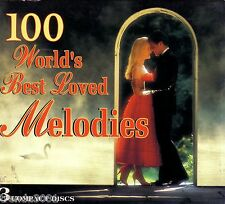 WORLDS BEST LOVED MELODIES 3CD Classic Greats AVE MARIA CATCH FALLING STAR Rare