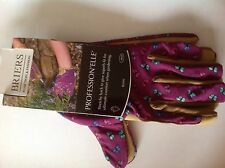 Briers Profession'elle' ladies gardening gloves Butterflies Purple