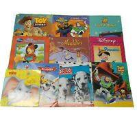 Disney Book Lot Of 10 Dumbo Pinocchio Minnie Aladdin Toy Story Boys Lot 9