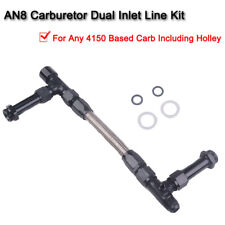 1 Kit High Quality Car 8 AN Fuel Line Carb Kit Compatible with Holley 4150