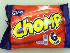 PACK OF 6 CADBURY'S CHOMP BARS - BRITISH CHOCOLATE - WILL SHIP WORLDWIDE