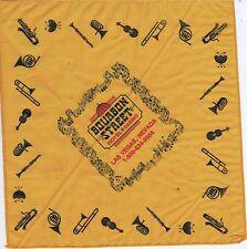 New listing Souvenir Handkerchief From Bourbon St. Casino Las Vegas Nv Open 1985 Closed 2005