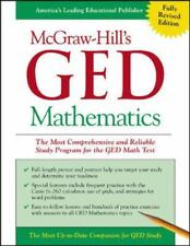 McGraw-Hill's GED Mathematics : The Most Comprehensive and Reliable Study...