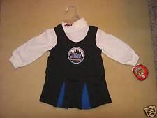 MLB New York NY Mets Cheerleader Dress Sz 3T NWT