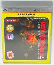 Metal Gear Solid 4: Guns of the Patriots PlayStation 3 ps3 completamente OVP muy bien