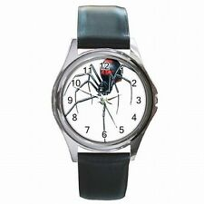 Black Widow Redback Spider Halloween Leather Watch New!