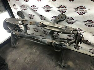 2014 MERCEDES A200 W176 2.1CDI REAR AXLE BEAM COMPLETE WITH HUBS & ARMS