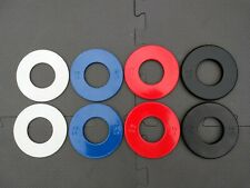 Vangurdfit Olympic Fractional Weight Plate Set - 5 LB, 8 Pcs (1, 3/4, 1/2, 1/4)