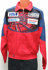 vtg 1995 US SKI TEAM Jacket SMALL Spyder Subaru USA 90s VISA American Airlines S