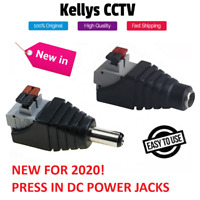 12V DC Male Female Power Balun Connector Cable Adapter Jack Plug for CCTV CAMERA