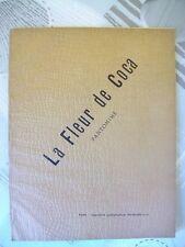 LA FLEUR DE COCA - LE THEATRE ANGELO MARIANI - 1892