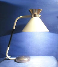 """LAMPE DE TABLE JUMO 450  REFLECTEUR """"DIABOLO"""" D'INSPIRATION GUARICHE 1960/1970"""